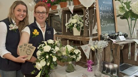 Claire and Carol Willcox of Bouquet Florist, Cheddar.