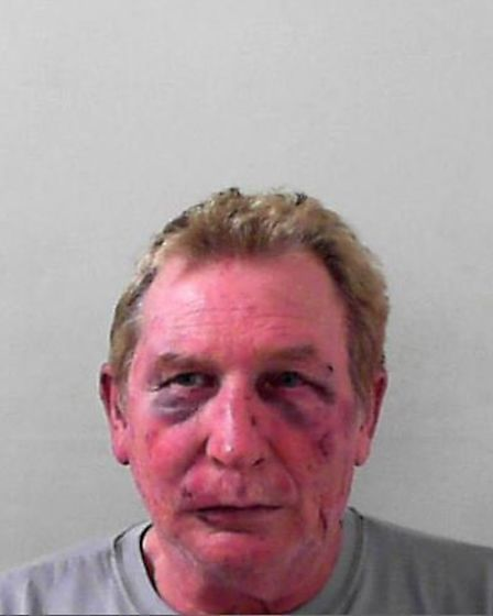 Keith Hayward was jailed for six years after the incident at the Golden Lion pub, in Wrington.