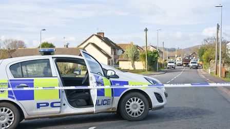 Clevedon Road was closed by police for several hours on February 14