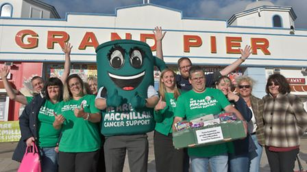 Macmillan world record cream tea attempt, supported by Mercury and Tesco at the Grand Pier.