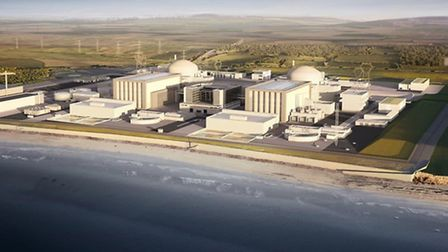 An artist's impression of the future Hinkley Point C.