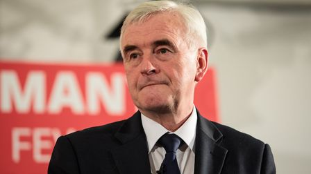 John McDonnell. Photo by Jack Taylor/Getty Images