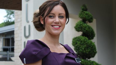 Amy Weston, manager at thespa at DoubleTree by Hilton, Cadbury House in Congresbury.