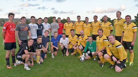 Wessex Water and Waitrose teams.