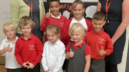 """Yeo Moor School, Clevedon. Launching """"Achievement For All"""" programme."""