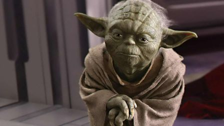 Yoda from the popular franchise Star Wars.