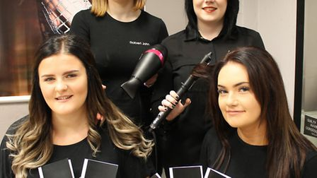 The new blow dry salon is due to open tomorrow (Thursday).