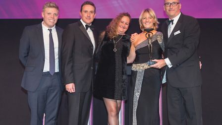 Staff from Pabulum have been named education caterer of the year.