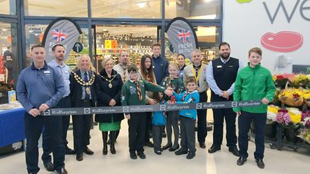 Opening of new Lidl store in Winterstoke Road, Weston-super-Mare.