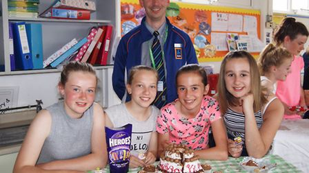 Aldi judged the great Gordano bake-off event as part of the Gordano Partners scheme.