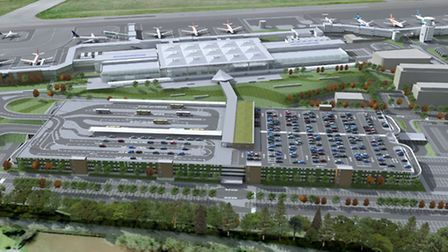 Bristol Airport has come a long way since it revealed this artist's impression of its future plans i
