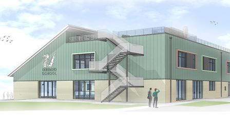 The new building will provide extra space for sixth formers.