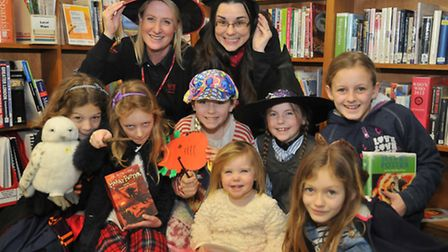 Librarians Zoe Honeyman and Bridget DarwinPill Library Harry Potter-themed events being held (LJ)4,0