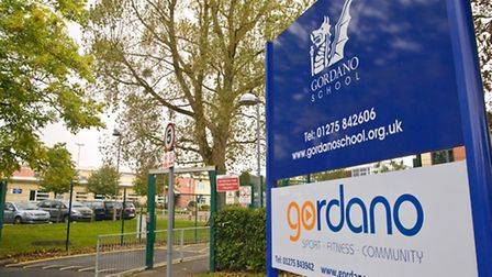 Gordano School at Portishead.