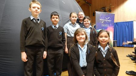 Space adventures at St Francis Primary School.