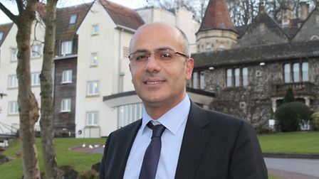 Mehmet Kandemir is the new general manager at DoubleTree by Hilton, Cadbury House.