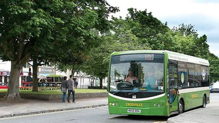 Crosville will run fewer services in Weston-super-Mare from April 17.