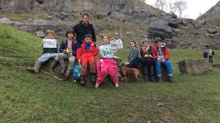 The Congresbury Youth Partnership enjoyed a day out in Cheddar.