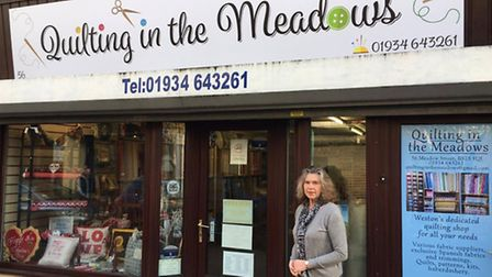 Quilting in the Meadows, in Meadow Street.