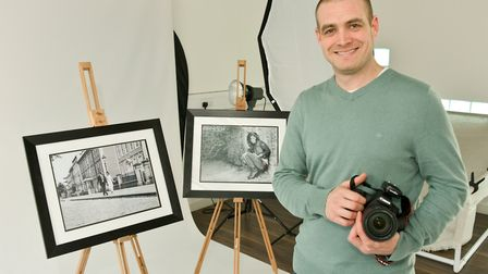David Harris who has launched a new photography studio, Empirical Photography.
