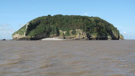 You can take a boat trip to Steep Holm from Weston.