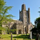 The current Yatton cemetery is located close to St Mary's Church.