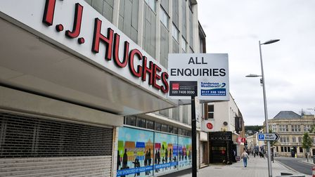 The former TJ Hughes building in High Street.