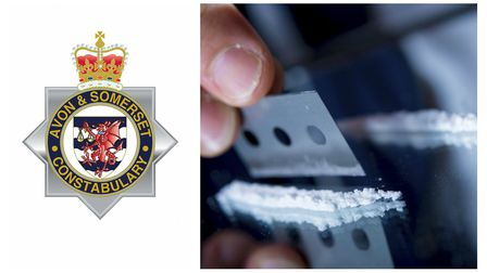 The cocaine was discovered in Nailsea by Avon and Somerset Constabulary.