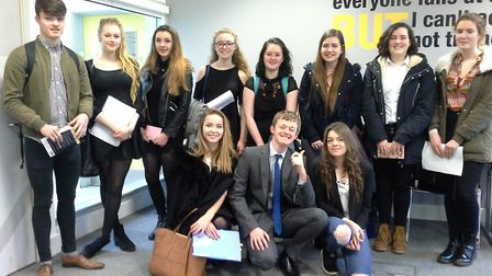 Clevedon School students are celebrating excellent spoken English exam results.