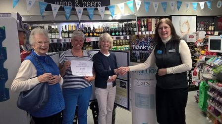 Winscombe Community Association received more than £1,000.