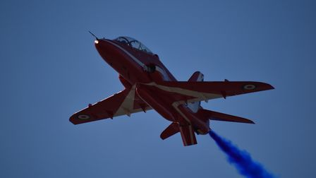 Red Arrow up close. Picture: Christopher Field