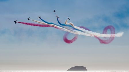 Watching Weston Air Festival. Picture: Clive Furbank