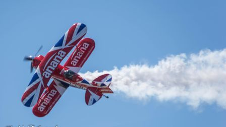 Couple of images from Weston-super-Mare air festival. Picture: Mark Anstee