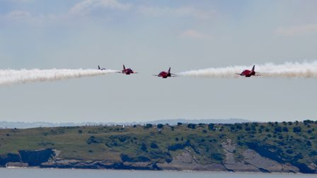 Great weekend for the airshow. Picture: Aideen Higgins