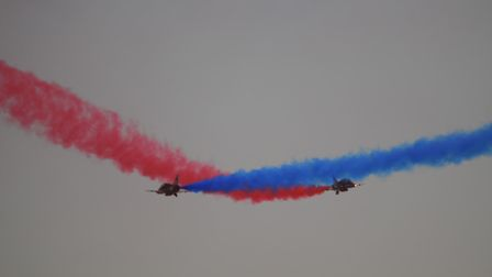 Red Arrows at Weston Super Mare Airday. Picture: Mike Jerrett