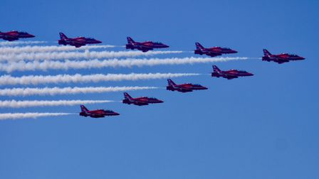 The Weston Air Festival was an outstanding free event which we truly appreciate. This is just a sam