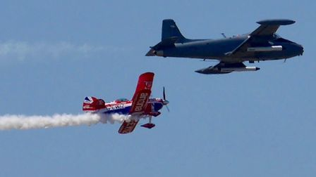 Just another sample of Weston Air Festival. This was without doubt the best two day event coupled wi