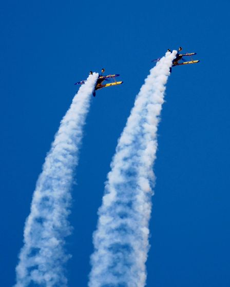 Just another sample of Weston Air Festival ...This was without doubt the best two day event coupled