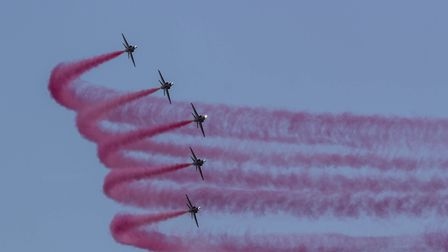 Spectacular displays at this years Air Festival, held on 17th and 18th June. Picture: Wendy Elson