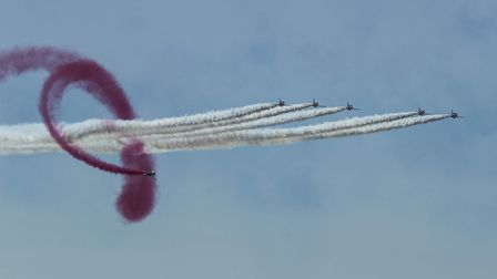 Spectatular displays at this years Air Festival, held on17th and 18th June. Picture: Wendy Elson