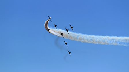 All taken at Weston air days from beach and Uphill. Picture: Philip Hill
