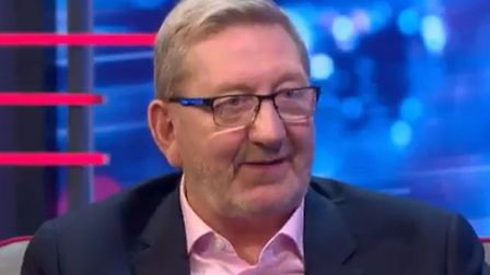 Union boss Len McCluskey appears on ITV's Peston programme. Photograph: ITV.