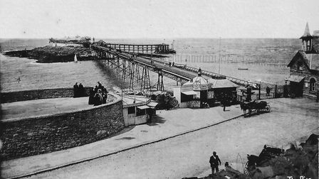Birnbeck in the 1890s.