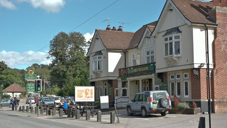 The Lord Nelson pub, at Cleeve, closed by Greene King last year and bought by Tout Ltd.