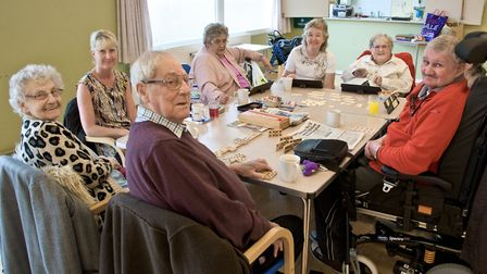 New day centre for elderly people at Our Lady of Lourdes church hall, Baytree Road.