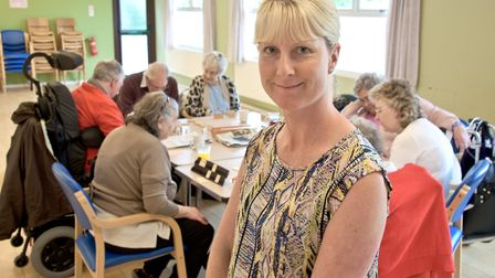 Nikki, who runs the centre at Our Lady of Lourdes church hall, Baytree Road.