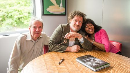 Marco Pierre White visited Double Tree by Hilton at Cadbury House, in Congresbury.