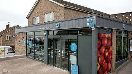 Co-op store at top of Avon Way, Portishead.