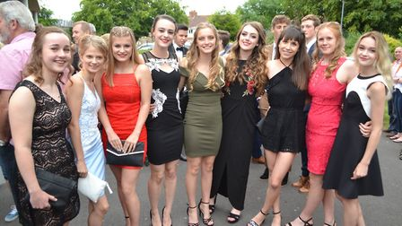 Gordano School year 13 ball. Picture: Eleanor Young