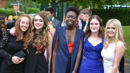 Students were dressed to impress. Picture: Eleanor Young